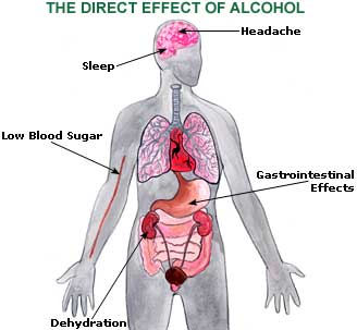 Effects Of Throwing Up After Drinking